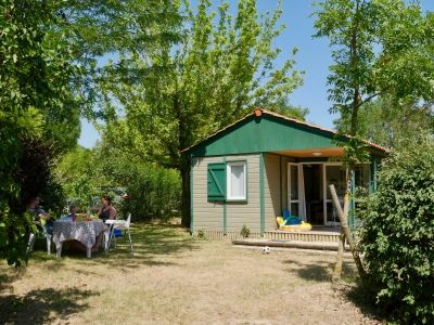 camping Gervannes chalet